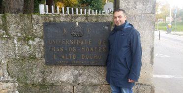 ERASMUS teaching visit to Universidade De Trás-os-Montes e Alto Douro